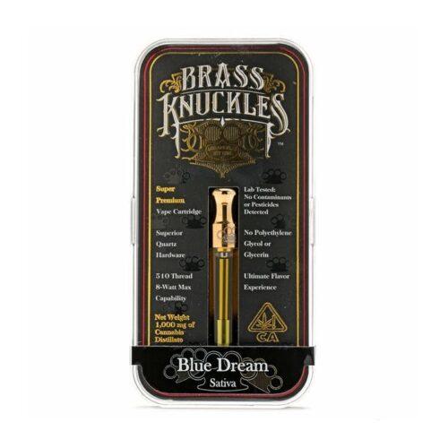 Blue dreams brass knuckles